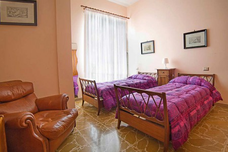 Bed and Breakfast Casa Adriana Ascoli Piceno Appartamento Ortensia camera doppia