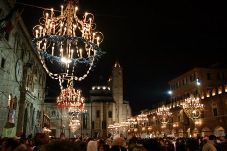 carnevale di ascoli piceno in piazza del popolo